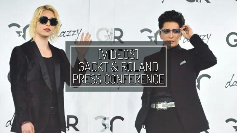 [VIDEOS] G&R  GACKT & ROLAND PRESS CONFERENCE – DEC 16 2020